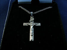 "Beautiful New Sterling .925 Silver Cross By Cross Gifts W/ 18"" chain Lot B"