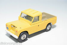 CORGI TOYS 438 LAND ROVER 109 WB YELLOW EXCELLENT CONDITION REPAINT