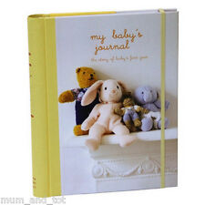 My Baby's Journal First Year Diary Keepsake Record Book From Birth
