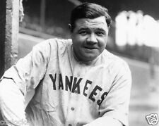 Babe Ruth 8 x 10 GLOSSY Photo Picture