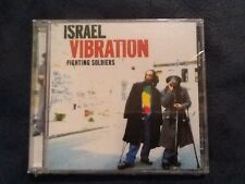 """Israel Vibration """"Fighting Soldiers"""" CD Nocturne (2002) Roots Reggae New/Sealed"""