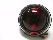 1950 Pontiac Style Round Hot Rod Plain Lens Tail Light RH=LH