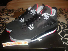 2012 NIKE AIR JORDAN RETRO 4 IV GS BRED US 6.5Y UK 6 EU 39 black thunder