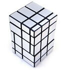 Rare Silver Custom 3x3 3x3x3 Fused Mirror Block Magic Cube Twist Puzzle Toy