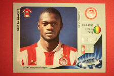 PANINI CHAMPIONS LEAGUE 2012/13 N.123 DIAKITè OLYMPIACOS BLACK BACK MINT!