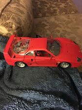 Toy Ferrari F40 1/18 Die Cast Car 1987