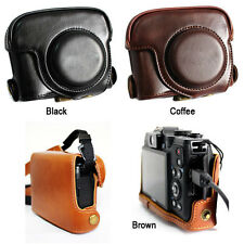 Leather Camera Case Bag Cover Guard Protector For CANON POWERSHOT G15 G16