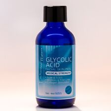 50% GLYCOLIC ACID Chemical Peel Kit Medical Grade 100% Pure! Acne-Scars-Wrinkles