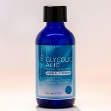 35% GLYCOLIC ACID Chemical Peel Kit Medical Grade 100% Pure! Acne Scars Wrinkles