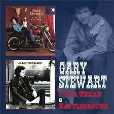 Gary Stewart I'm A Texan/Battleground 2-CD NEW SEALED 2013 Country