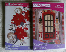 "Anita Goodesign Holiday Collection ""Christmas Elegance & Entering Fall"" ~ *NEW*"