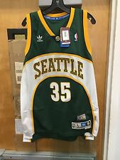 New Kevin Durant Seattle Supersonics  Hardwood Classic Jersey. Adult XL.