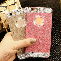 Luxury Bling Glitter Crystal Diamond Sparkle Case Cover For iPhone4 5 5C 6 Plus