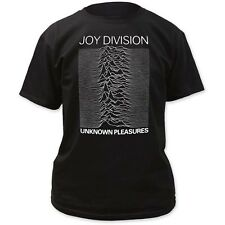 LICENSED Official Joy Division Unknown Pleasures T-Shirt New Adult Black IM-JD02