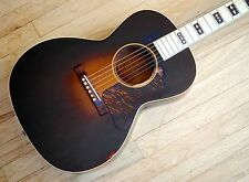 1934 Gibson Century of Progress L-C Vintage Acoustic Guitar X Braced Pearloid