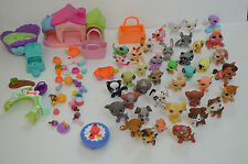 Huge lot littlest pet shop pets, accessories 2004-2007
