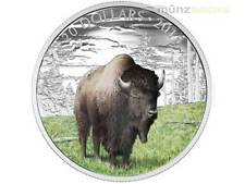 20 $ Dollar Majestic Animals Benevolent Bison Kanada 1 oz Silber PP 2016