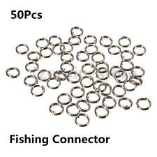PACK OF 5MM STAINLESS STEEL SPLIT RINGS FOR CARP FISHING RIGS LURES TACKLE LINE