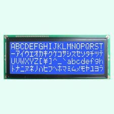 Larger Character 20X4 204 2004 LCD Module Display Screen LCM (White on Blue)