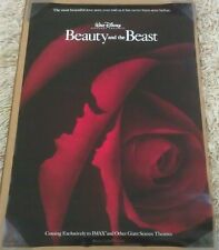 BEAUTY AND THE BEAST MOVIE POSTER 2 Sided ORIGINAL IMAX VF 27x40