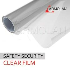 Safety Protection Window Film 60' 100ft 4 MIL Clear