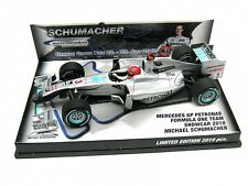Michael Schumacher Mercedes GP Petronas Showcar