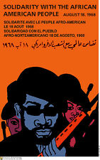 Political cuban POSTER.BLACK PANTHER's Bobby Seale am74.OWS.REvolution Art