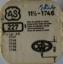 AS CAL. 1746-1749, 1798, 1799 ZENTRUMSEKUNDENRAD  PART No. 227  ~NOS~