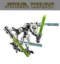 Original General Grievous Star Wars Minifigures Minifigs Compatible With Lego/#