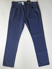 Men's Gap 1969 Slim Fit Low Rise Medium Blue Textured Twill Denim Jeans 32 X 34""