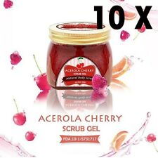 200g Acerola Cherry Scrub Gel by Little Baby Whitening Skin Reduce Dark Spot (A