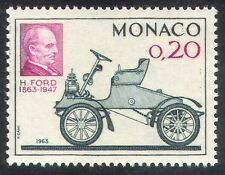 Monaco 1963 Henry Ford/Cars/Motoring/Motors/Transport/People 1v (n36637)