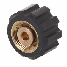 "Brand New Brass 1/4""Male x M22 Female Adaptor for Pressure Washer KARCHER Nozzle"