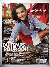 COUPURE DE PRESSE-CLIPPING : Carole BOUQUET En vacances avec [11pages] 08/2