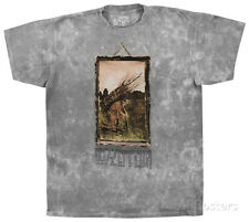 Led Zeppelin - Man With Sticks T-Shirt XL - Grey