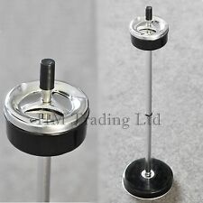 Black Free Floor Standing Spinning Sofa Side Ashtray Smoking Cigarette Ash Bin