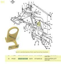 Unimog Mercedes Benz Freightliner FLU-419 Excavator Scoop Bucket Lft Arm Support