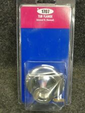 NOS! Brass Craft CHROME TUB FLANGE, UNIVERSAL FIT (RECESSED), SH1707