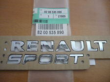 Genuine RenaultSport Rear Badge Clio 172 182 197 Megane 225 Twingo