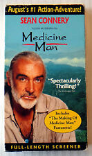 Medicine Man ~ Rare Promotional Demo Tape Screener VHS Movie ~ Sean Connery