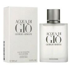 ACQUA DI GIO by GIORGIO ARMANI Eau de Toilette Spray for Men 3.4 oz / 100 ml NIB