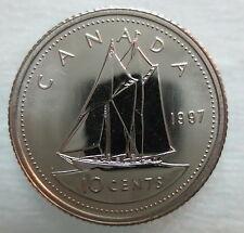 1997 CANADA 10 CENTS PROOF-LIKE COIN