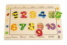 Hape E1500 Numbers Matching Puzzle