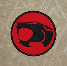 Thundercats Circle Logo Embroidered Iron-On Patch - Badge