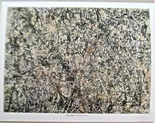 Jackson Pollock Lavender Mist- Poster Offset Lithograph 14x11 Unsigned