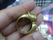 Thammarong Ring Yoni Lingam Magic Charm Luck Sorcery Thai Amulet Occult