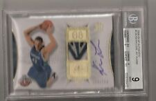 Kevin Love 08/09 SP authentic auto 4 color patch rookie #126 SN #88/299 BGS 9/10