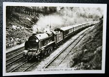 Southern Railway  Bournemouth Bell  Weybridge     Vintage Photo Card  VGC