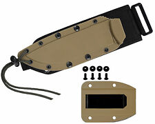 ESEE Model 4 Brown Molded MOLLE Back SHEATH ONLY 21SS