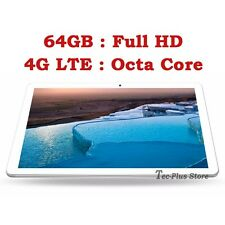 "NUEVO TECA 811S 4G LTE 3.6GHz OCTA CORE 64GB 10.1"" Full-HD ANDROID 6.0 TABLET a"